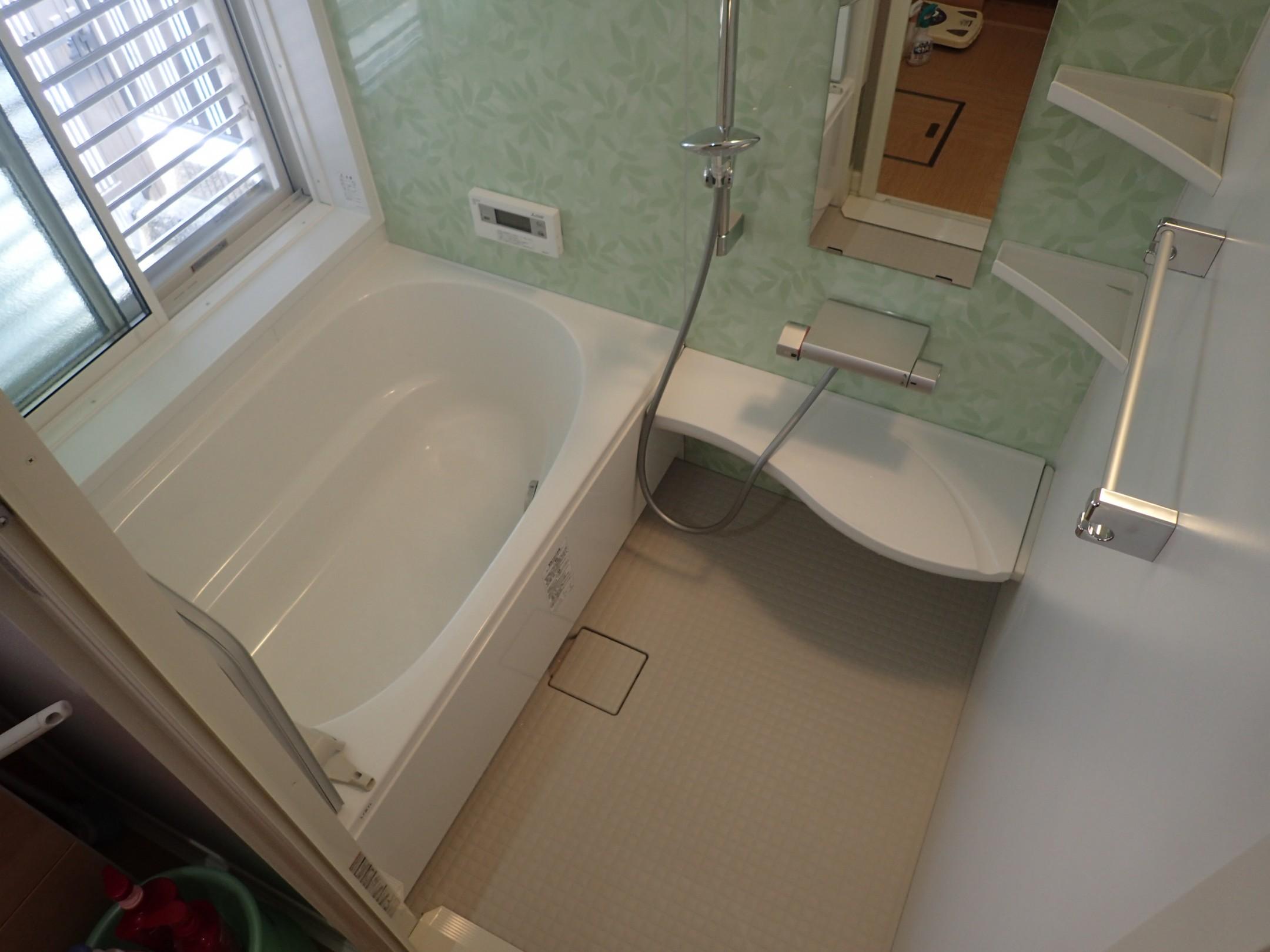 浴室改修工事(内側)