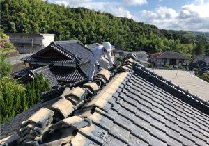 屋根替え中