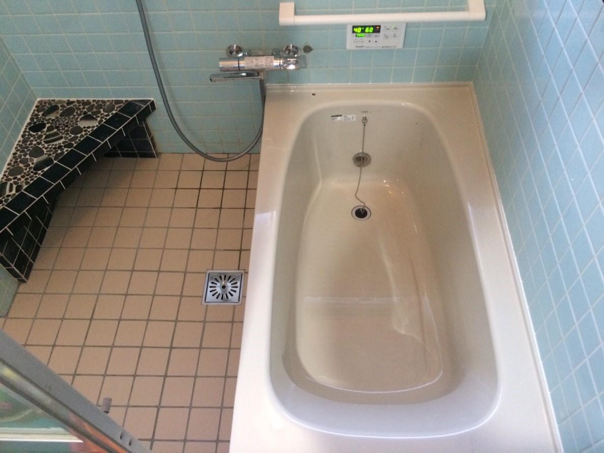 浴槽&給湯機設置工事