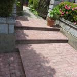 玄関前☆外階段☆