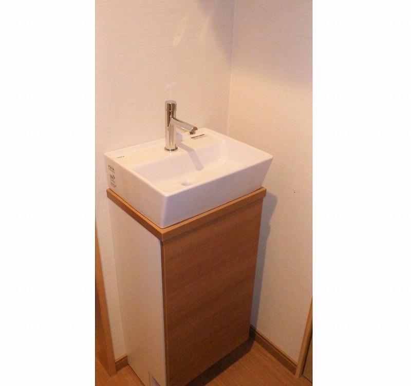 手洗い器取替工事