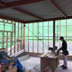 倉庫新築工事🔨進捗状況