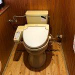 簡易トイレ取替