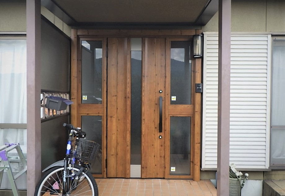 波佐見町 玄関ドア取替