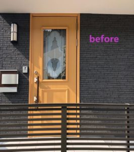 波佐見町 玄関ドア取替工事